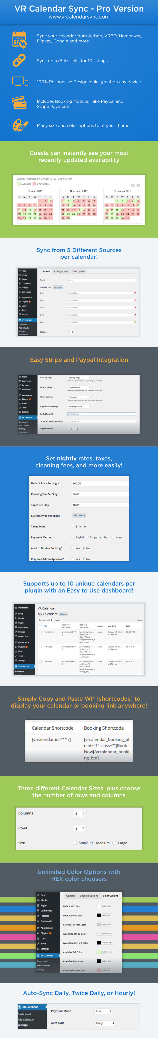 Calendar Booking Plugin Wordpress : Add to favorites collection