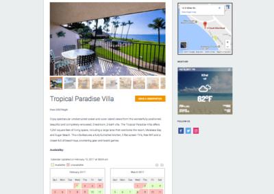 Maalaea Surf Vacations VR Calendar Sync